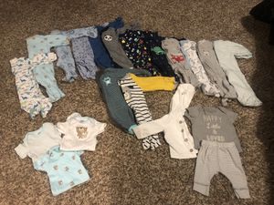 New born baby boy sleepers for Sale in Baltimore, MD
