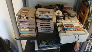 Original Nintendo and super Nintendo with games for Sale in Kearns, UT