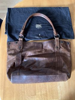 Fry leather bag $150; Macy's leather bag $50, and a leather messenger bag $15. for Sale in Randolph,  MA