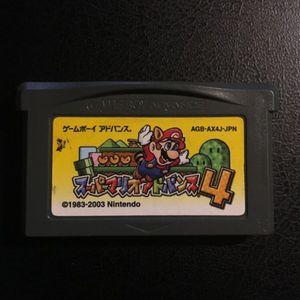 GBA SUPER MARIO ADVANCE 4 Nintendo Game Boy Advance JAPAN for Sale in Chula Vista, CA