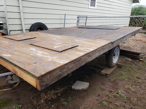 Trailer good condition