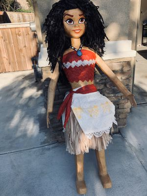 moana & maui piñata (5FT) for Sale in San Diego, CA