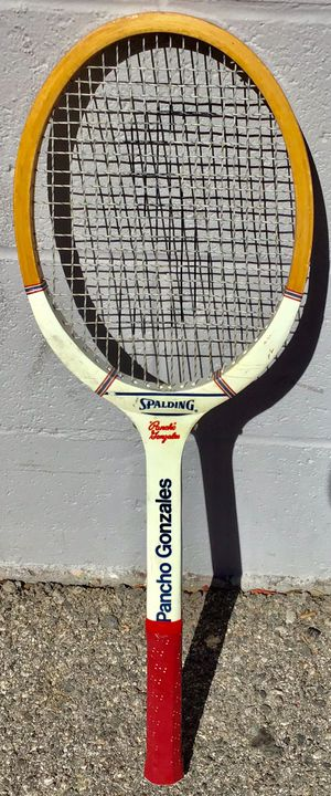 Vintage Spalding Pancho Gonzales wood tennis racket.🎾 for Sale in Los Angeles, CA