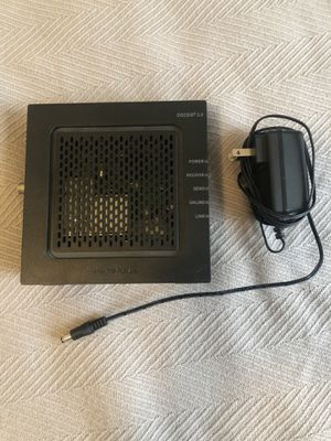 Motorola Cable Modem - works perfectly for Sale in Goodyear, AZ