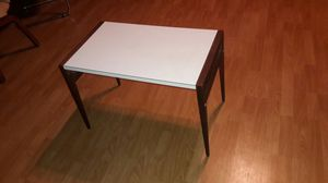 Mid Century Brown Saltman folding coffee/end table for Sale in Tampa, FL