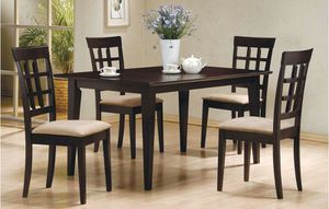 Brand new table with 4 chairs for Sale in Calumet City, IL