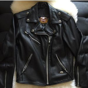 Almost new leather Harley Davidson jacket for Sale in Raleigh, NC
