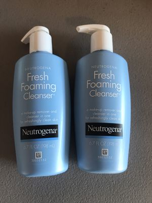 Neutrogena fresh foaming cleanser for Sale in Stockton, CA