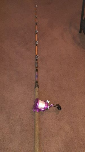 Fishing rod and reel for Sale in San Pedro, CA