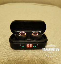 (B4)Bluetooth True Wireless Earphone 5.0 Earbuds Waterproof Music Headset for Sale in La Habra,  CA