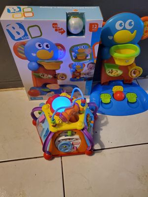 NEWWW KIDS BASKETBALL GAME AND A EDUCATIONAL TOY for Sale in Miami, FL
