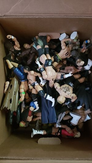 Box of wrestlers for Sale in Parsonsburg, MD