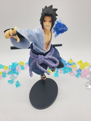 Japanese anime Naruto figure toy statue sasuke chidori 10.25 inches for Sale in Rosemead, CA