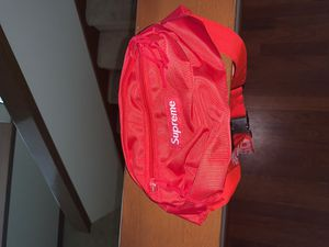 Supreme Waist Bag (SS18) Red for Sale in Graham, WA