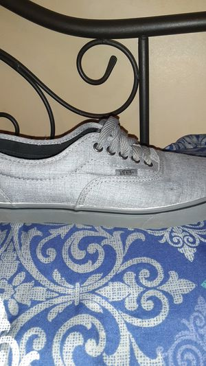 VAN'S: All gray Low-Top Authentic Sneaker(Gray on Gray) for Sale in Stonewall, MS