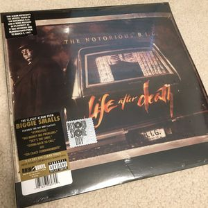 "Notorious B.I.G. ""Life After Death"" Vinyl for Sale in DeSoto, TX"