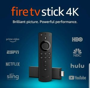Amazon Fire TV Stick 4k, 3rd Generation w/ 2nd Generation Voice Remote for Sale in Westminster, CA
