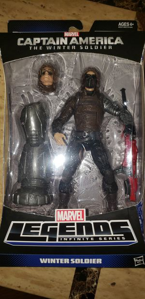 Marvel Legends Avengers Captain America Winter Soldier Mandroid Baf for Sale in Chicago, IL