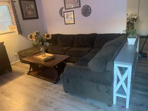 Living spaces sectional couch for Sale in Redlands, CA