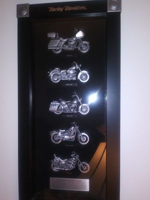 Harley Davidson motorcycles collection framed.. for Sale in Union Park, FL