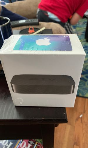 Apple TV version 3 and $15 iTunes card for Sale in Tacoma, WA