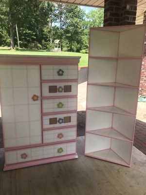 Armoire and shelves for Sale in Spring, TX