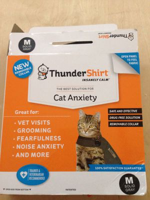 Cat thunder shirt for cat anxiety size medium for Sale in Torrance, CA