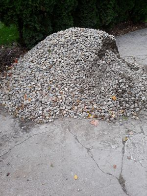 River rock 1.5 ton ....is free... for Sale in West Chicago, IL