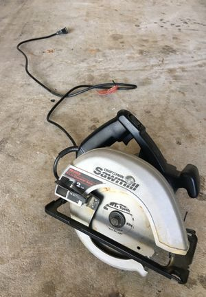 Craftsman Circular saw with Blade for Sale in Leesburg, VA