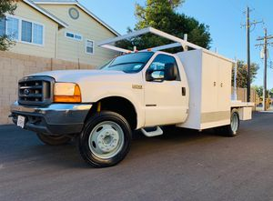 2000 Ford F450 7.3 Diesel Flatbed Utility for Sale in Tracy, CA