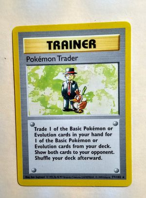 1999 1st Edition Pokemon Trader Rare NM-Mint for Sale in Fenton, MO
