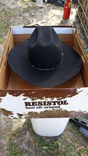 Resistol George strait style cowboy hat for Sale in Orlando, FL