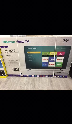 70 inch hisense roku 4K smart tv for Sale in Chino, CA