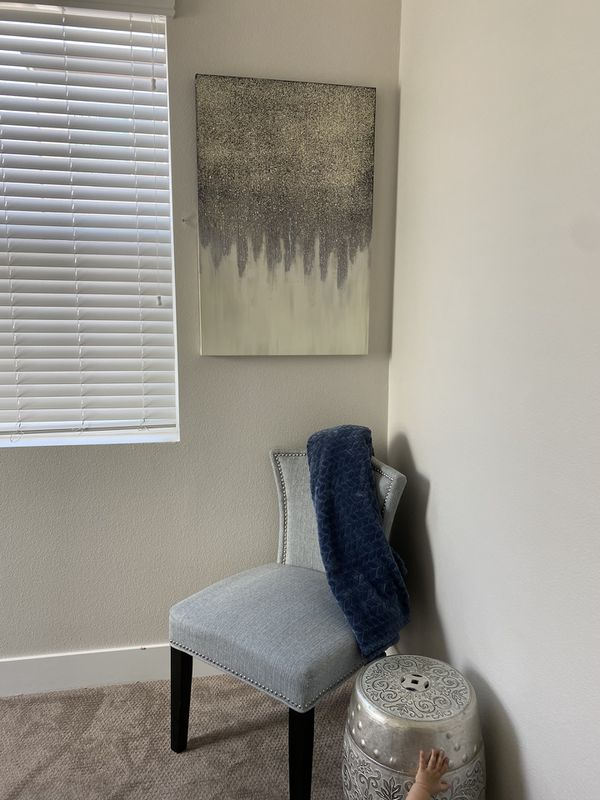 Z Gallerie Inspired Wall Painting/ Canvas