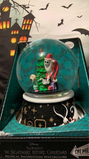 Nightmare before Christmas water globe for Sale in La Mirada, CA