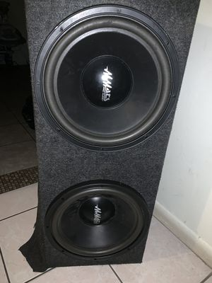 "Mmatt speakers 12"" pro audio for Sale in Lake Worth, FL"
