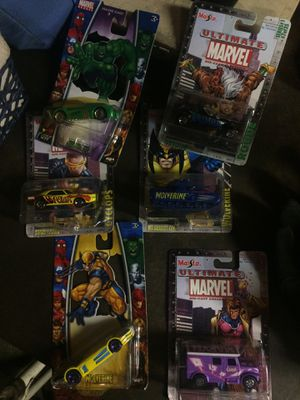Maisto Ultimate Marvel Die Cast Collection for Sale in Grove City, OH