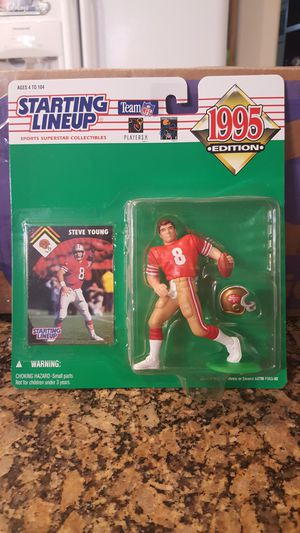1995 Starting lineup Steve Young for Sale in AZ, US