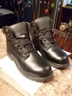 Men's Steal Toe Work Boots Size 14 Worn Once!! for Sale in Brick Township, NJ