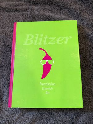 Blitzer Precalculus Essentials 4th Edition for Sale in Winsted, CT