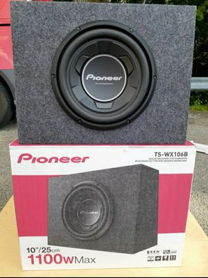 NEW! 10 inch Pioneer subwoofer box for Sale in York, PA