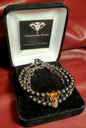 Mens charm bracelet- Kings Jewel for Sale in Mesa, AZ