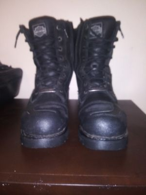 Mens size 9 Harley Davidson boots for Sale in Port Lavaca, TX