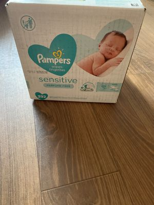 Pampers sensitive wipes for Sale in Dallas, TX