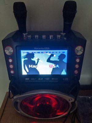 Karaoke USA Bluetooth compatible karaoke machine for Sale in Fitchburg, MA