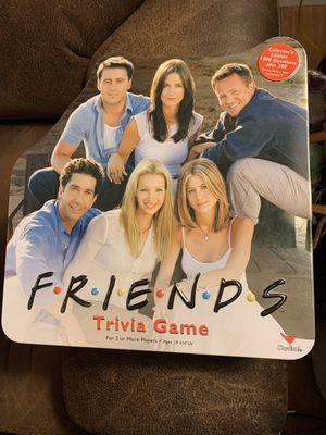 2002 Friends Trivia Board Game for Sale in Grand Prairie, TX