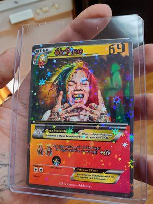 6ix9ine star holo pokemon card for Sale in Glen Cove, NY