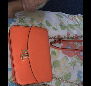 Leather Madison Crossbody Bag Ralph Lauren for Sale in Marlow Heights, MD