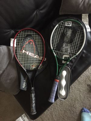 Tennis rackets for Sale in Lawrence, IN