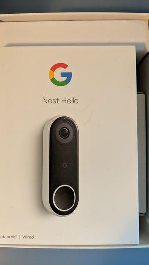 Google nest video doorbell never installed for Sale in West Columbia, SC